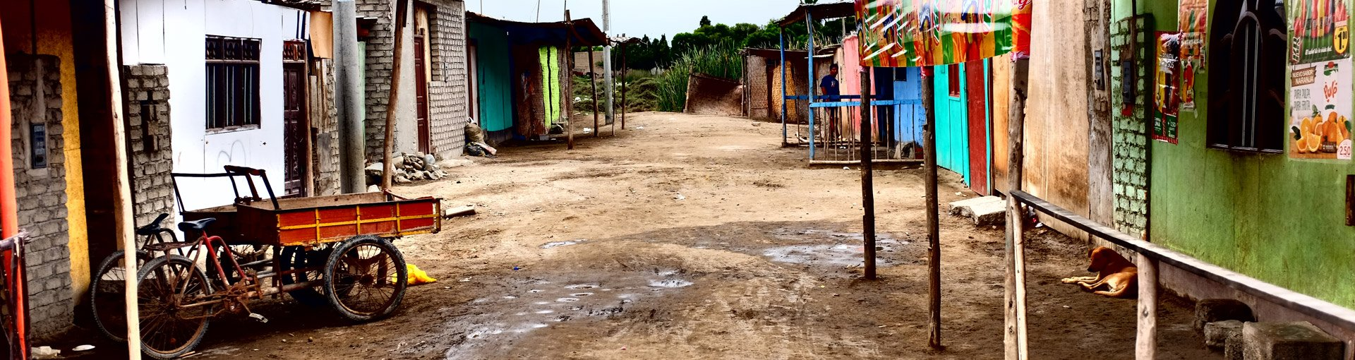 A street in Chimbote