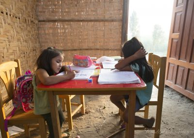 Children Studying_watermarked