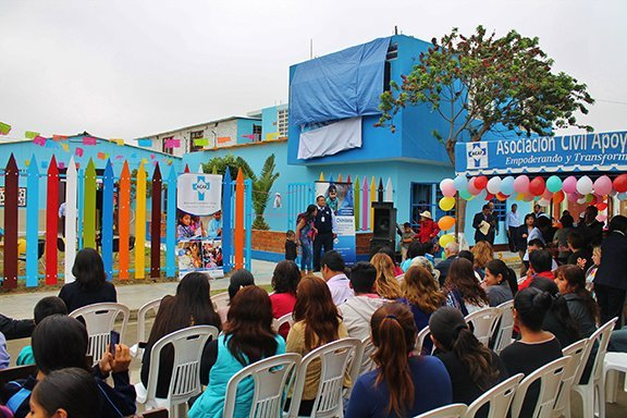 ACAF Inaugurates Sister Peggy Byrne Learning Center for 250 Impoverished Children